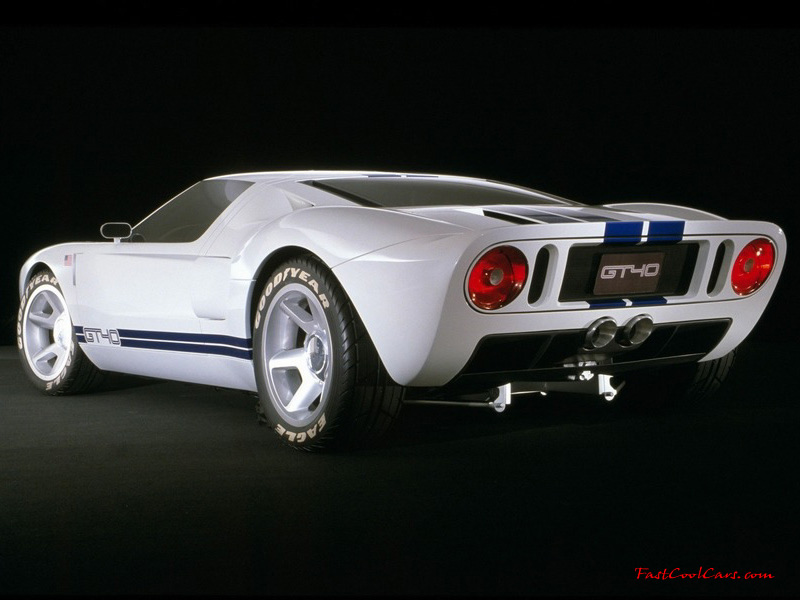 Ford GT white #3