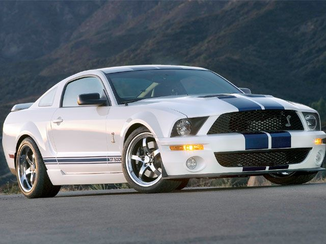 Ford Mustang white #2