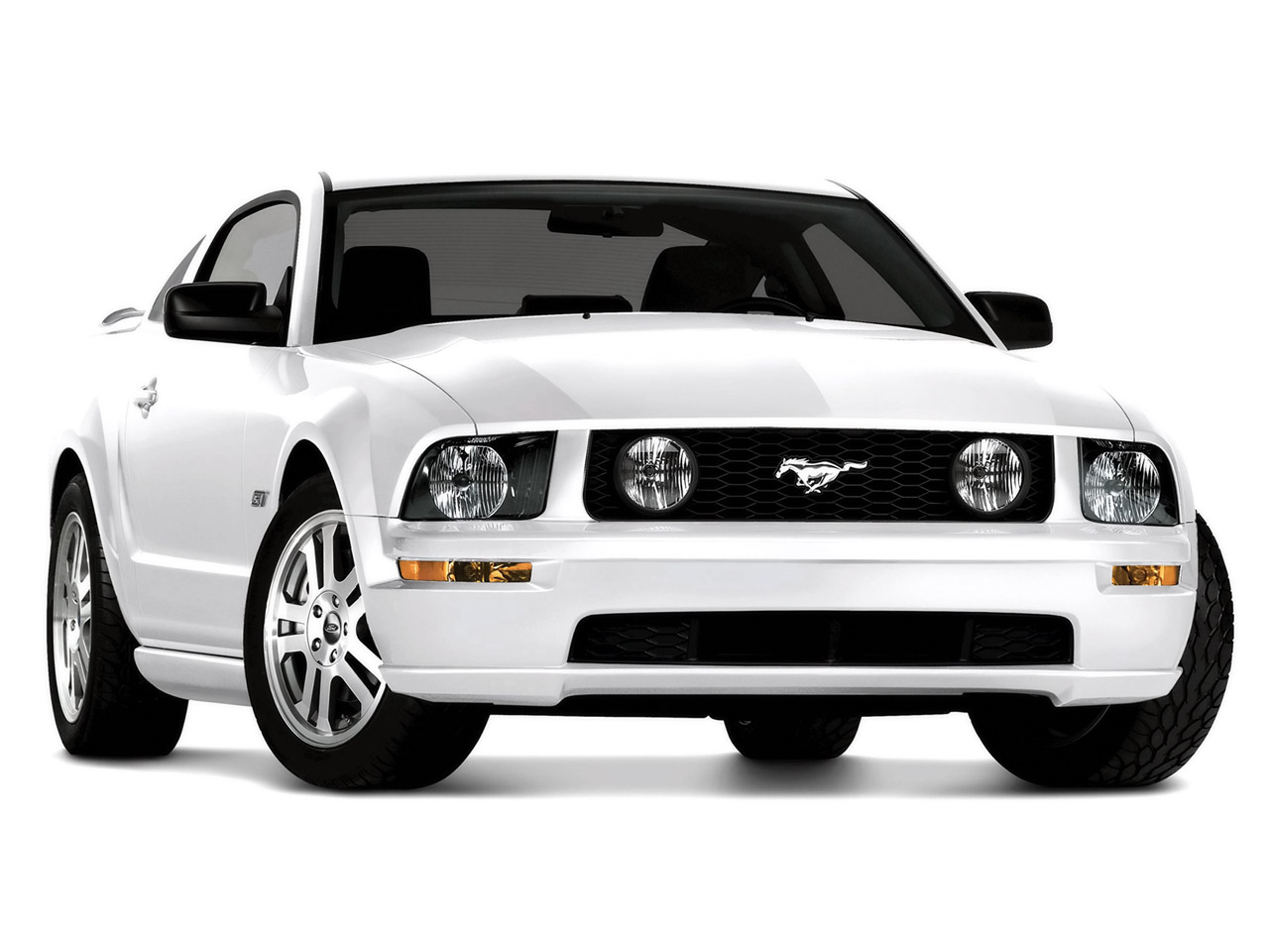 Ford Mustang white #4