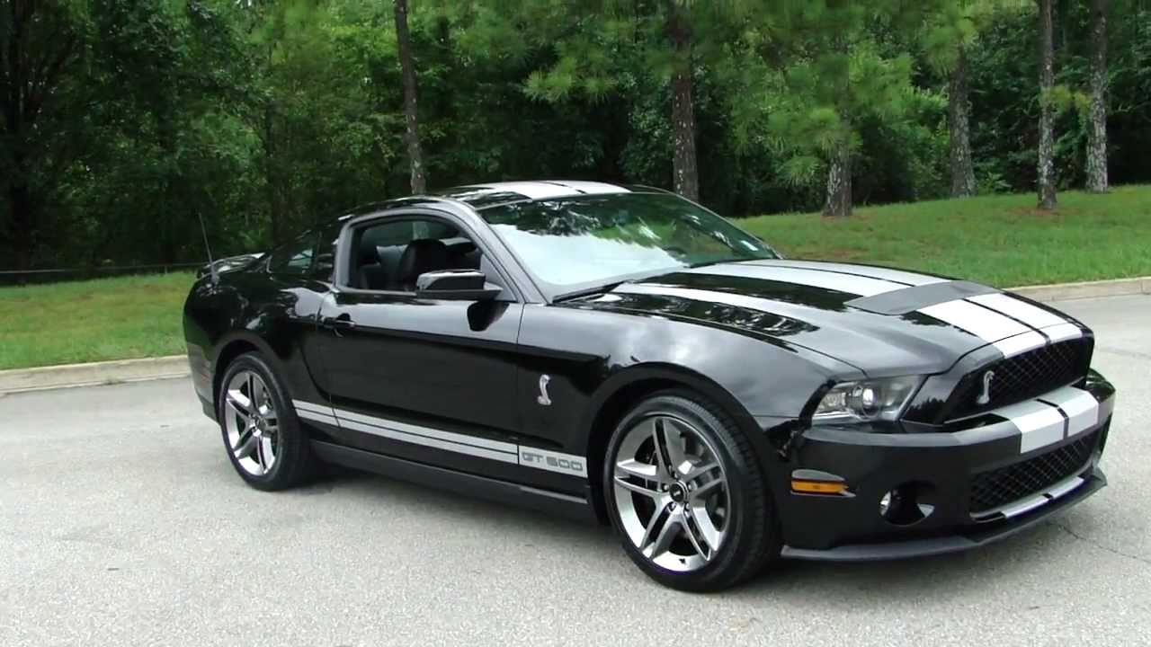 Ford Shelby GT500 black #2