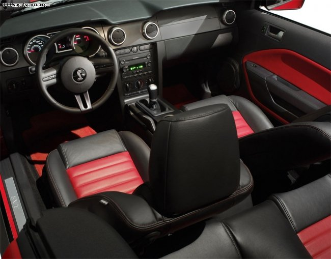 Ford Shelby GT500 interior #2