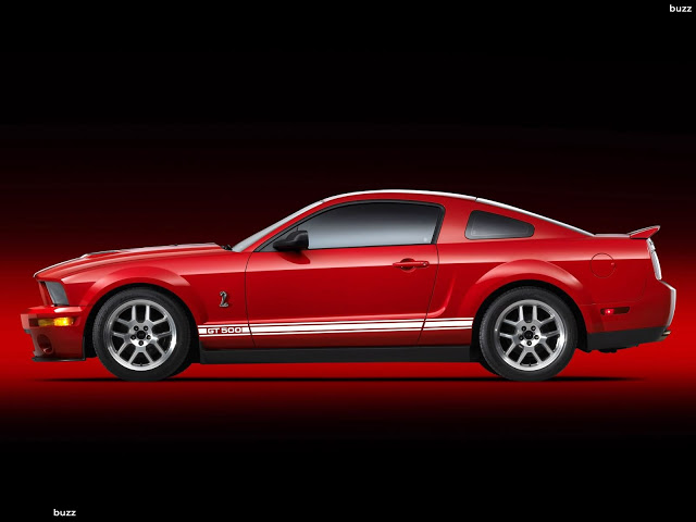 Ford Shelby GT500 red #2