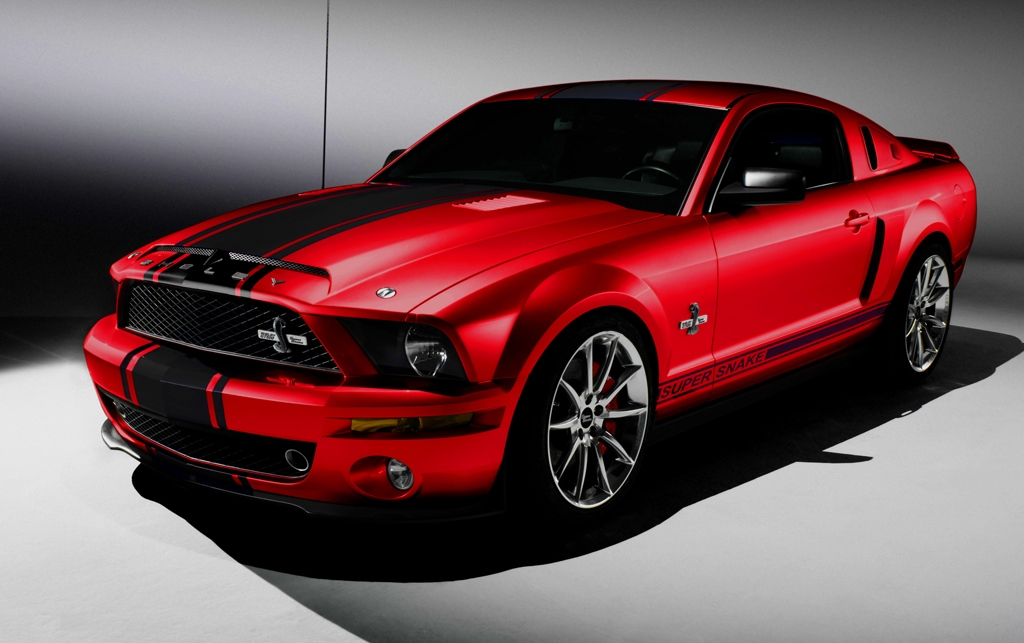 Ford Shelby GT500 red #3