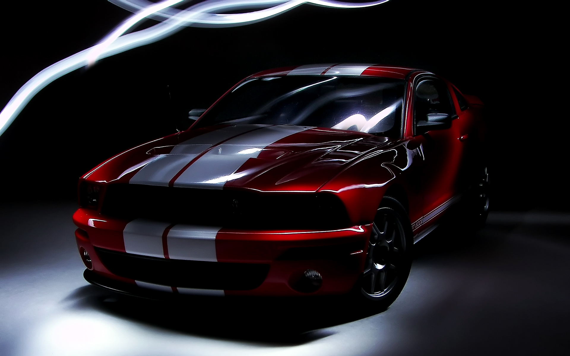 Ford Shelby GT500 red #4