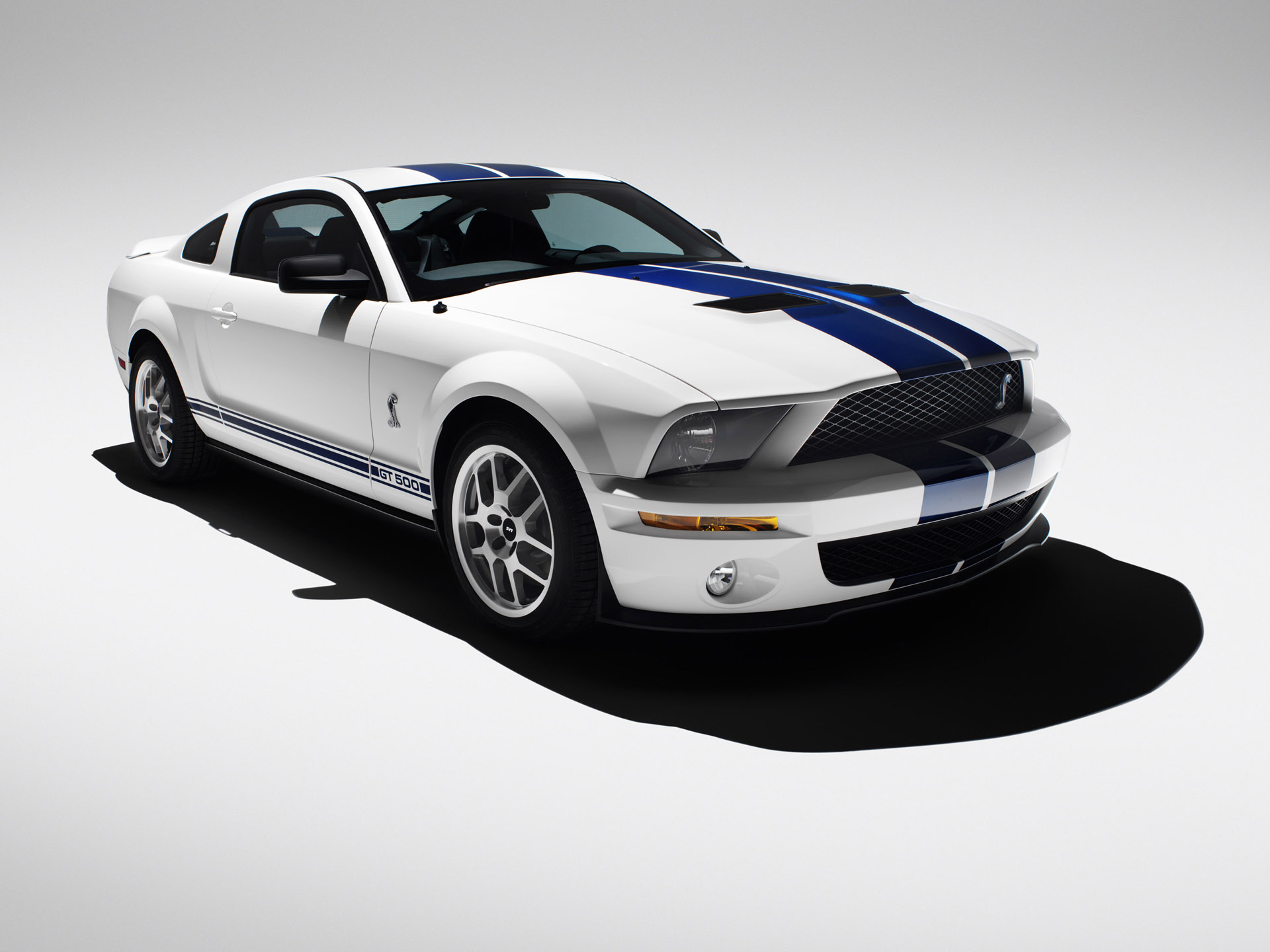 Ford Shelby GT500 white #2