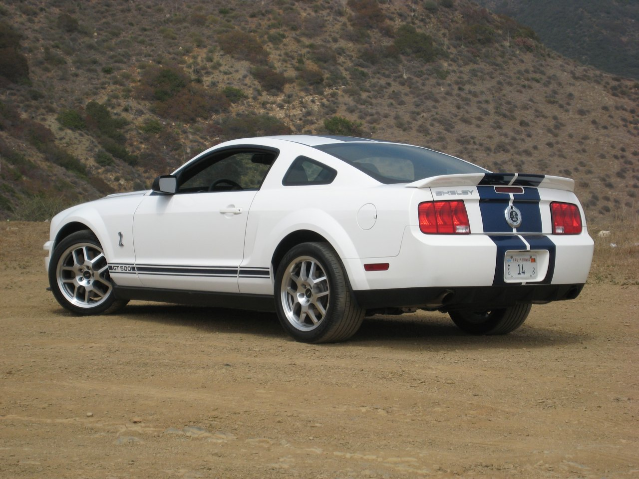 Ford Shelby GT500 white #3