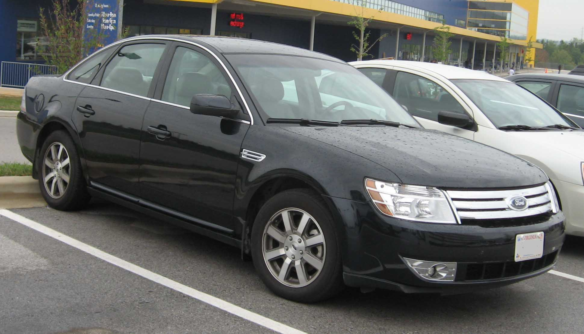 Ford Taurus black #3