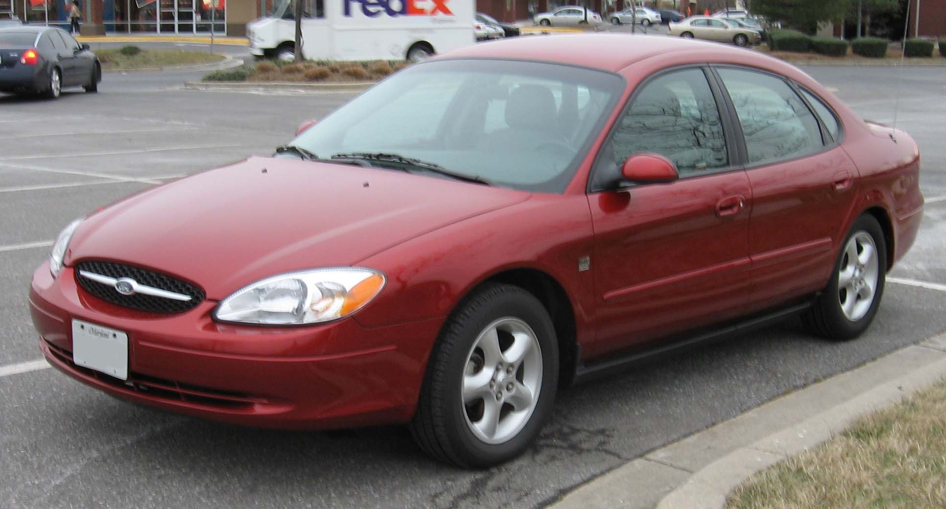 Ford Taurus red #2