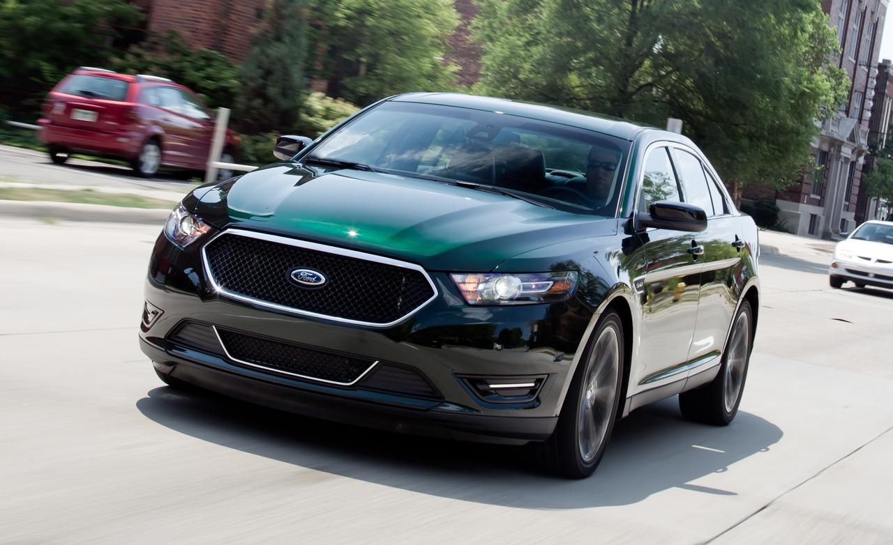 Ford Taurus X black #2