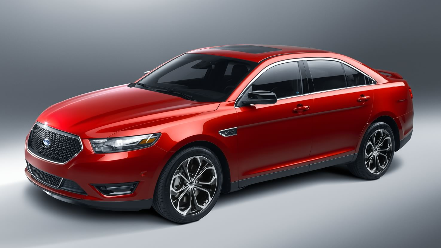 Ford Taurus X red #1