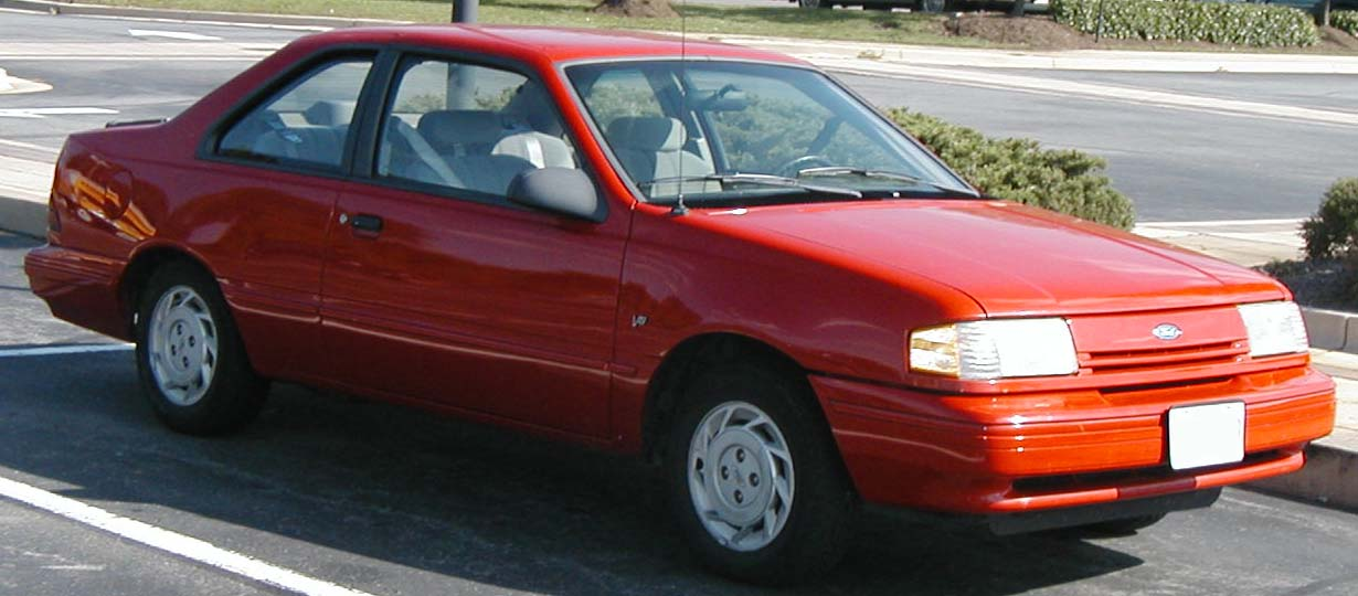 Ford Tempo red #2