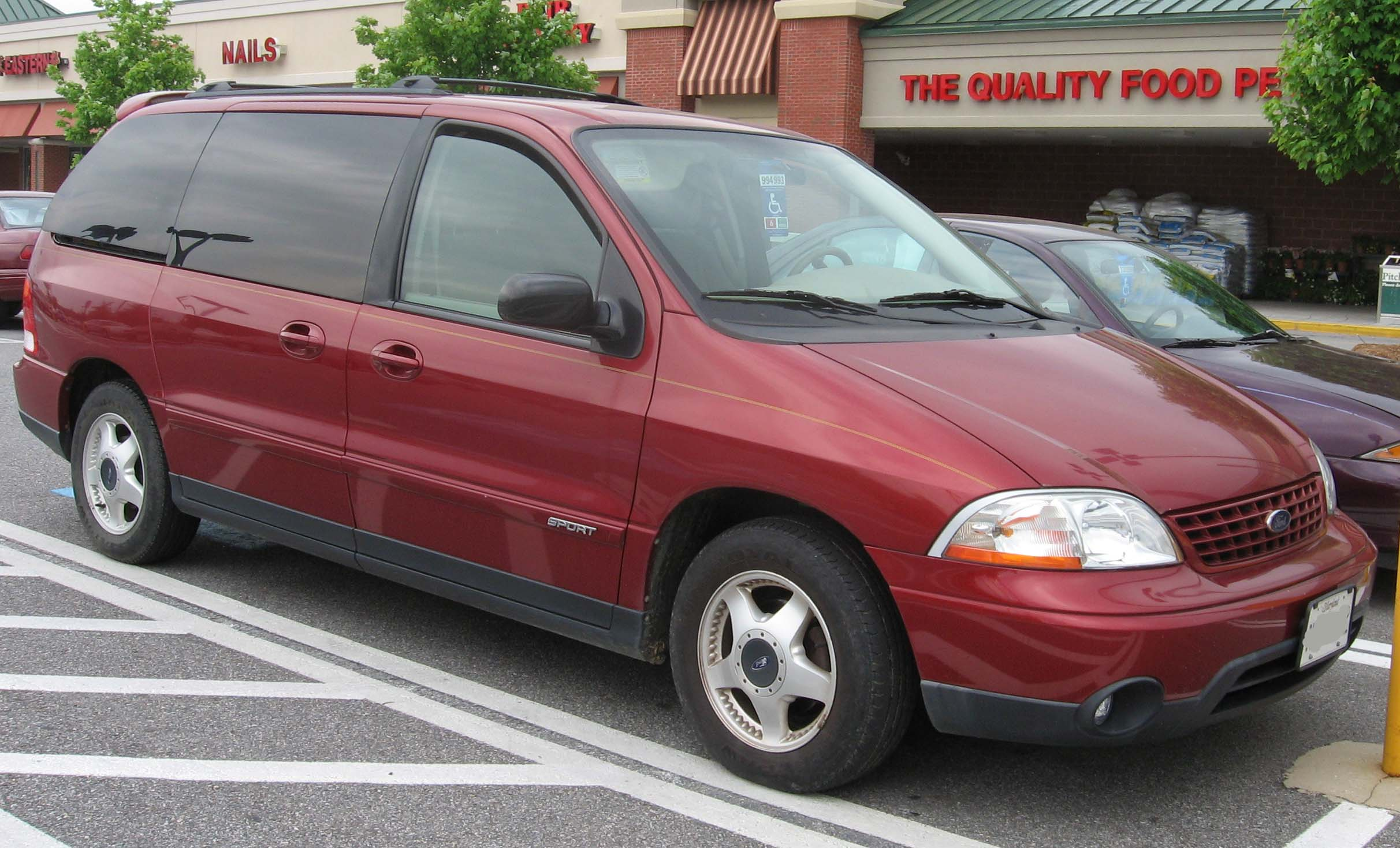 Ford Windstar red #3