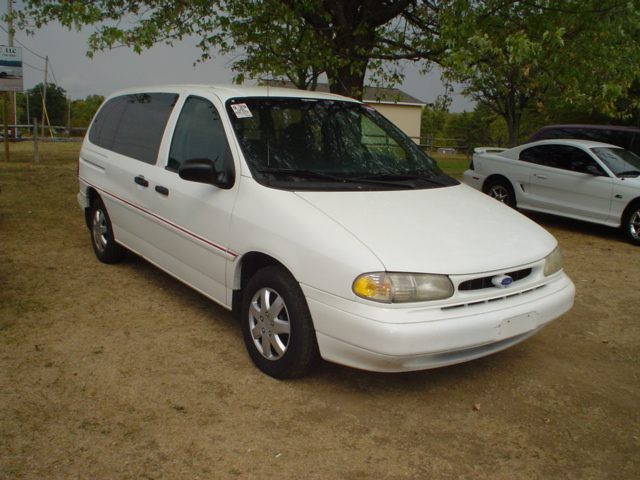 Ford Windstar white #1