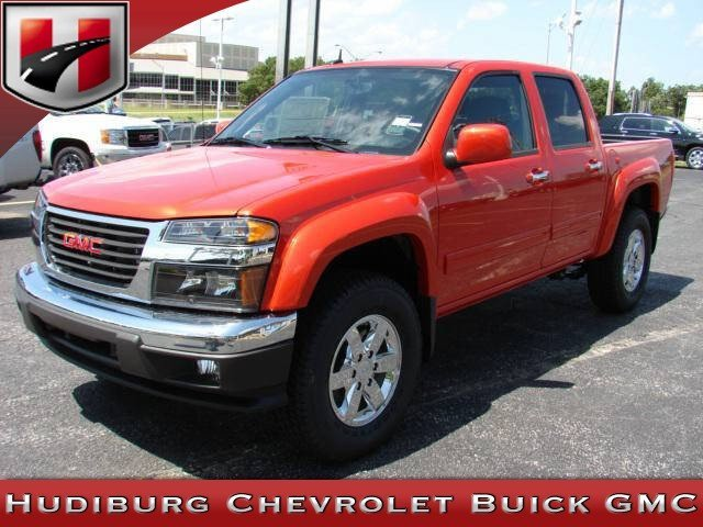 GMC Canyon red #2