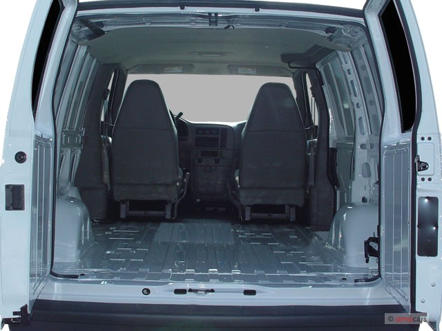 GMC Safari Cargo interior #2