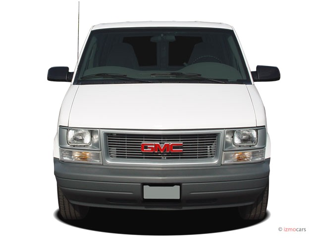 GMC Safari Cargo red #2