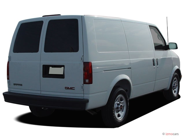 GMC Safari Cargo white #3