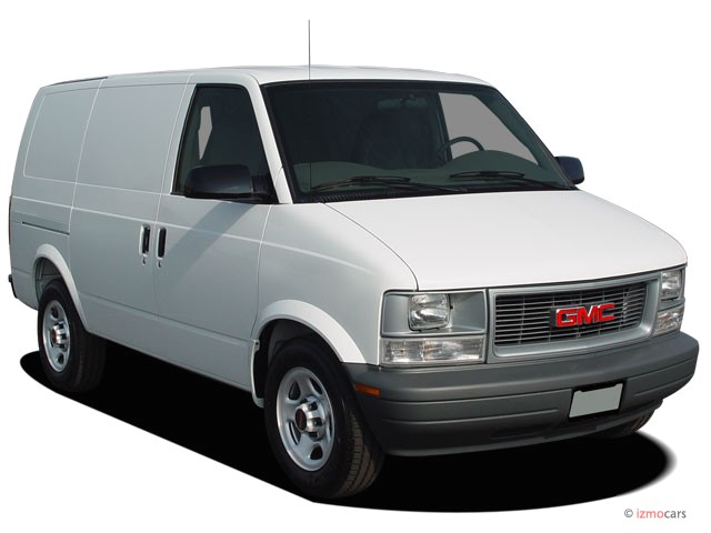 GMC Safari Cargo white #1