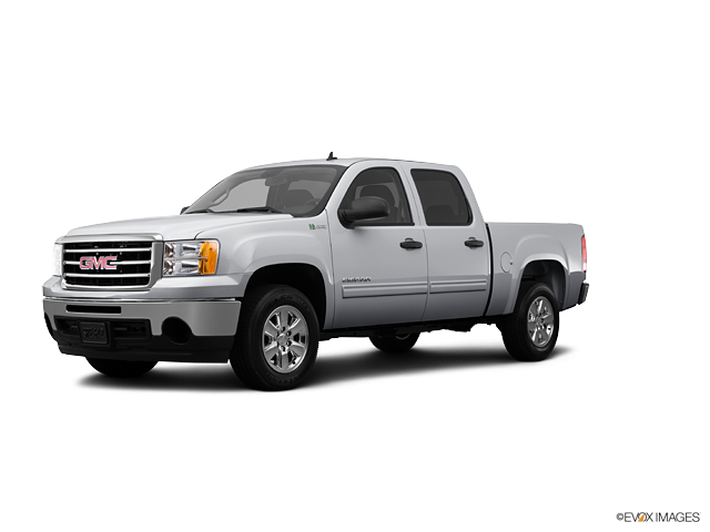 GMC Sierra 1500 Hybrid red #4