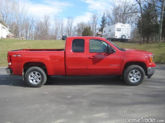 GMC Sierra 1500HD Classic red #4