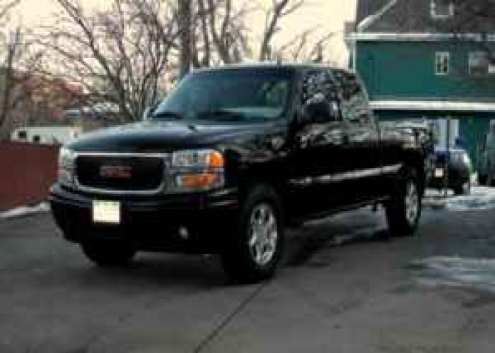 GMC Sierra C3 black #2