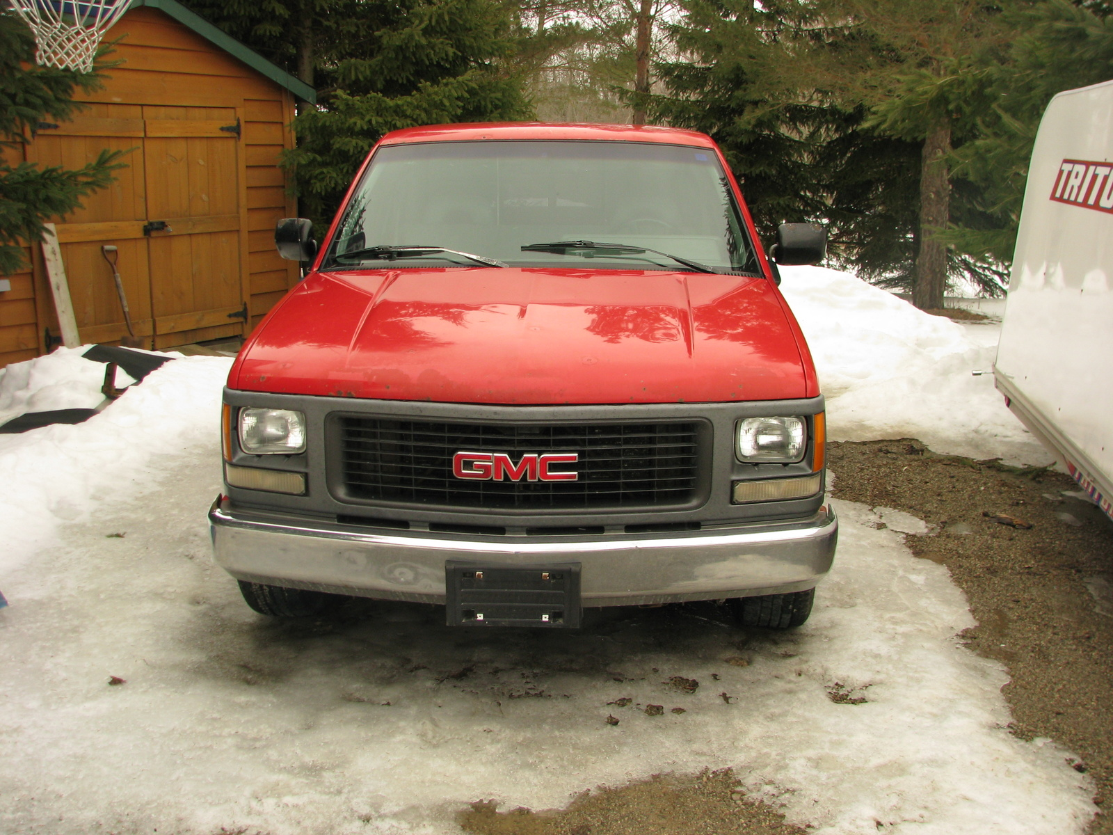 GMC Sierra C3 red #4