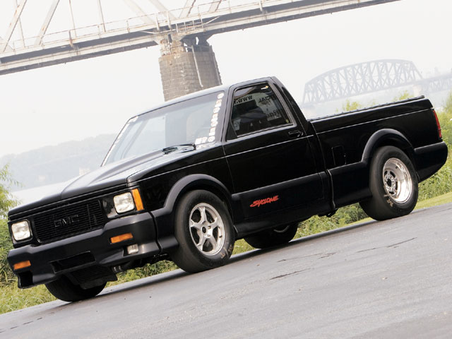GMC Syclone red #2