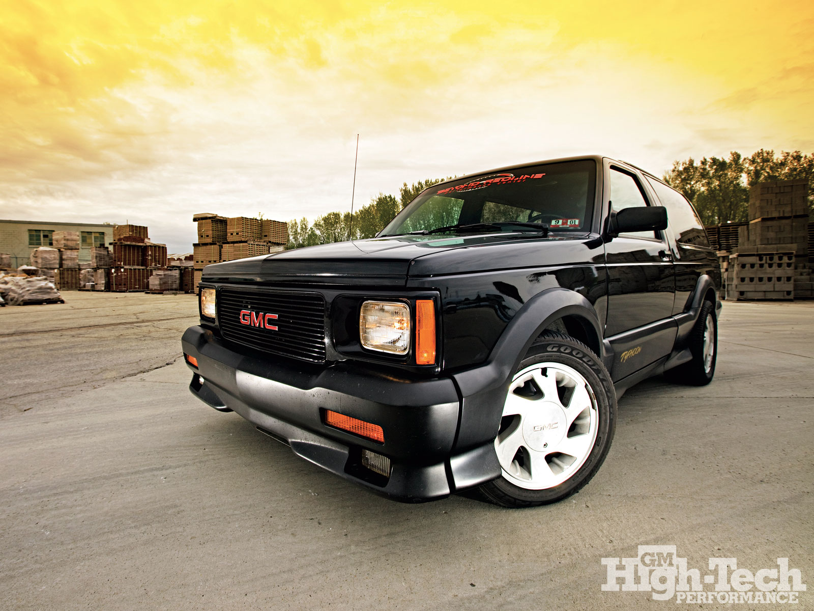 GMC Typhoon black #2