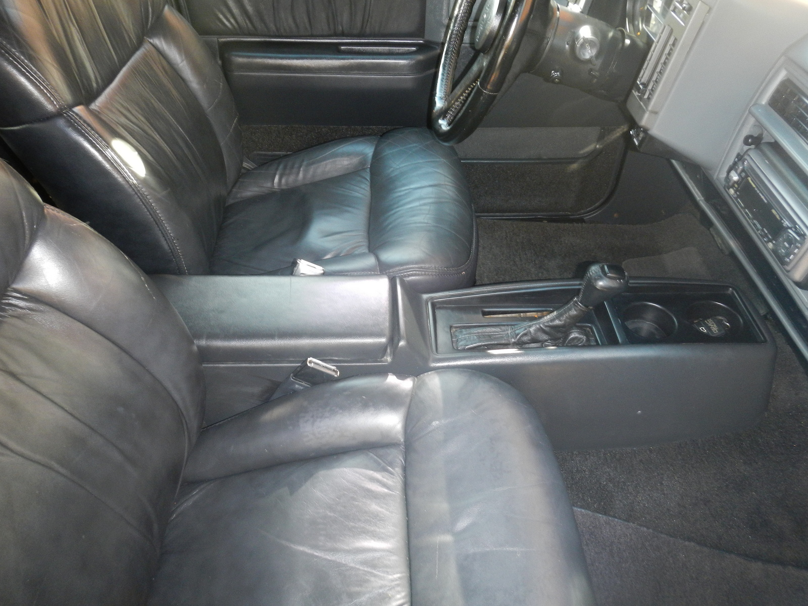 GMC Typhoon interior #2
