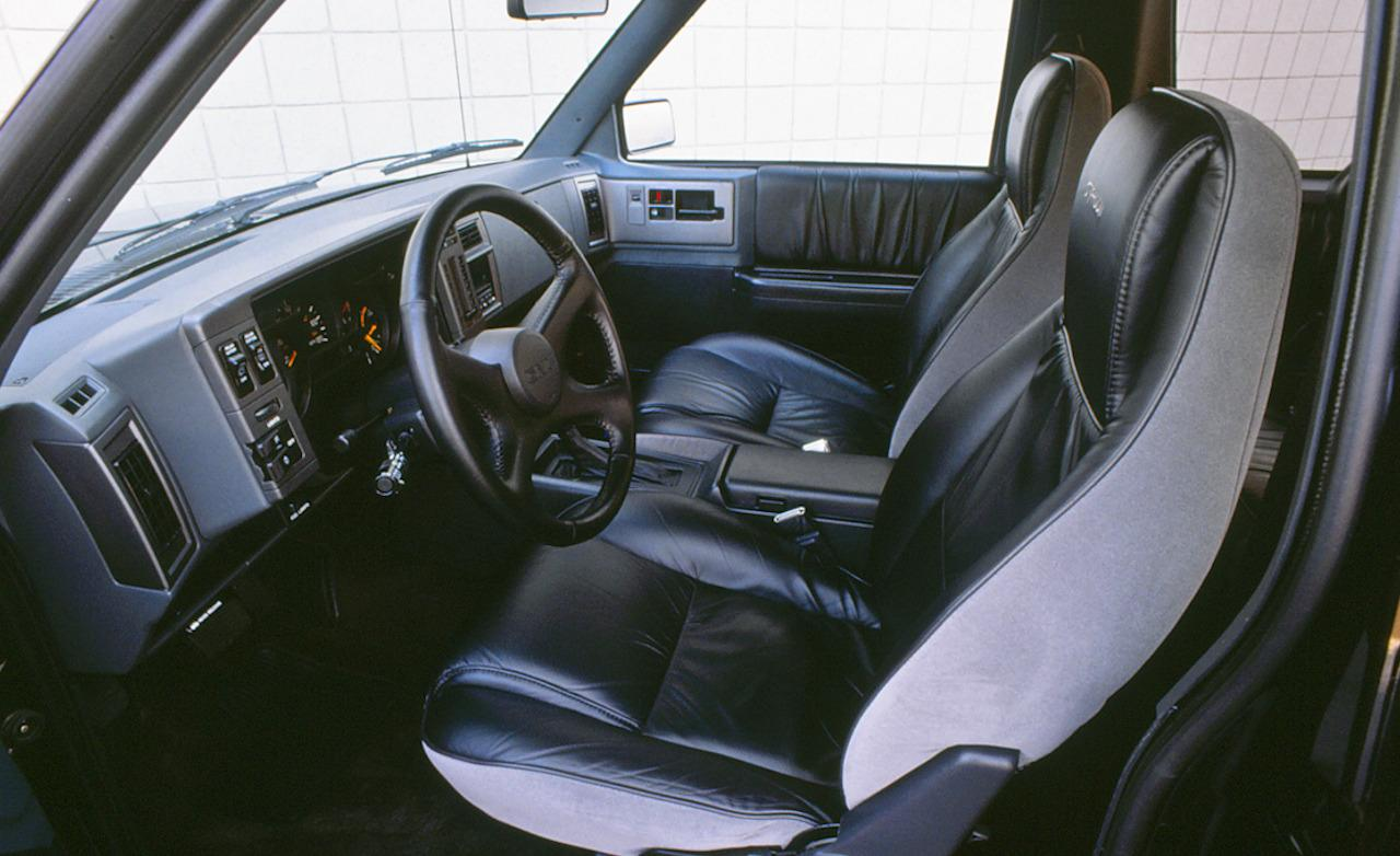 GMC Typhoon interior #1