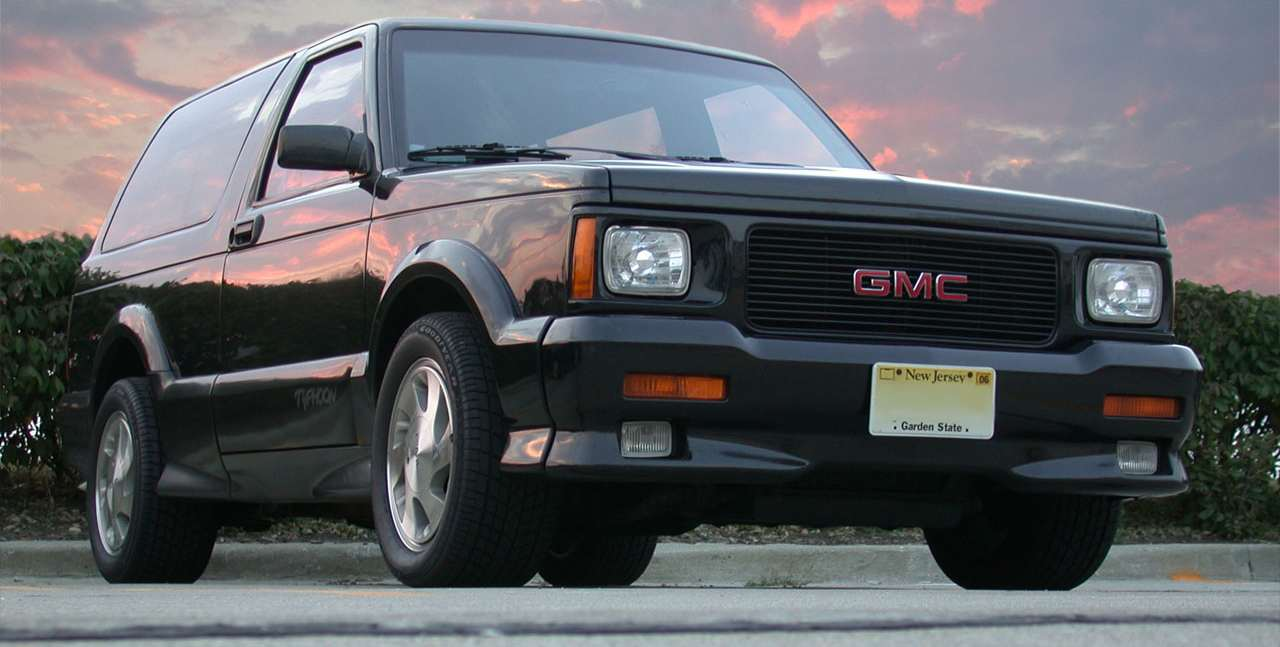 GMC Typhoon white #2