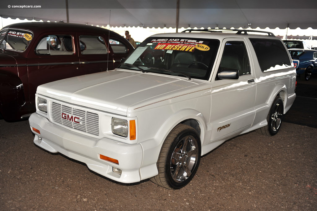 GMC Typhoon white #4
