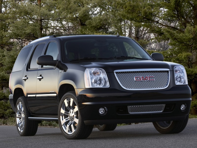 GMC Yukon XL black #1