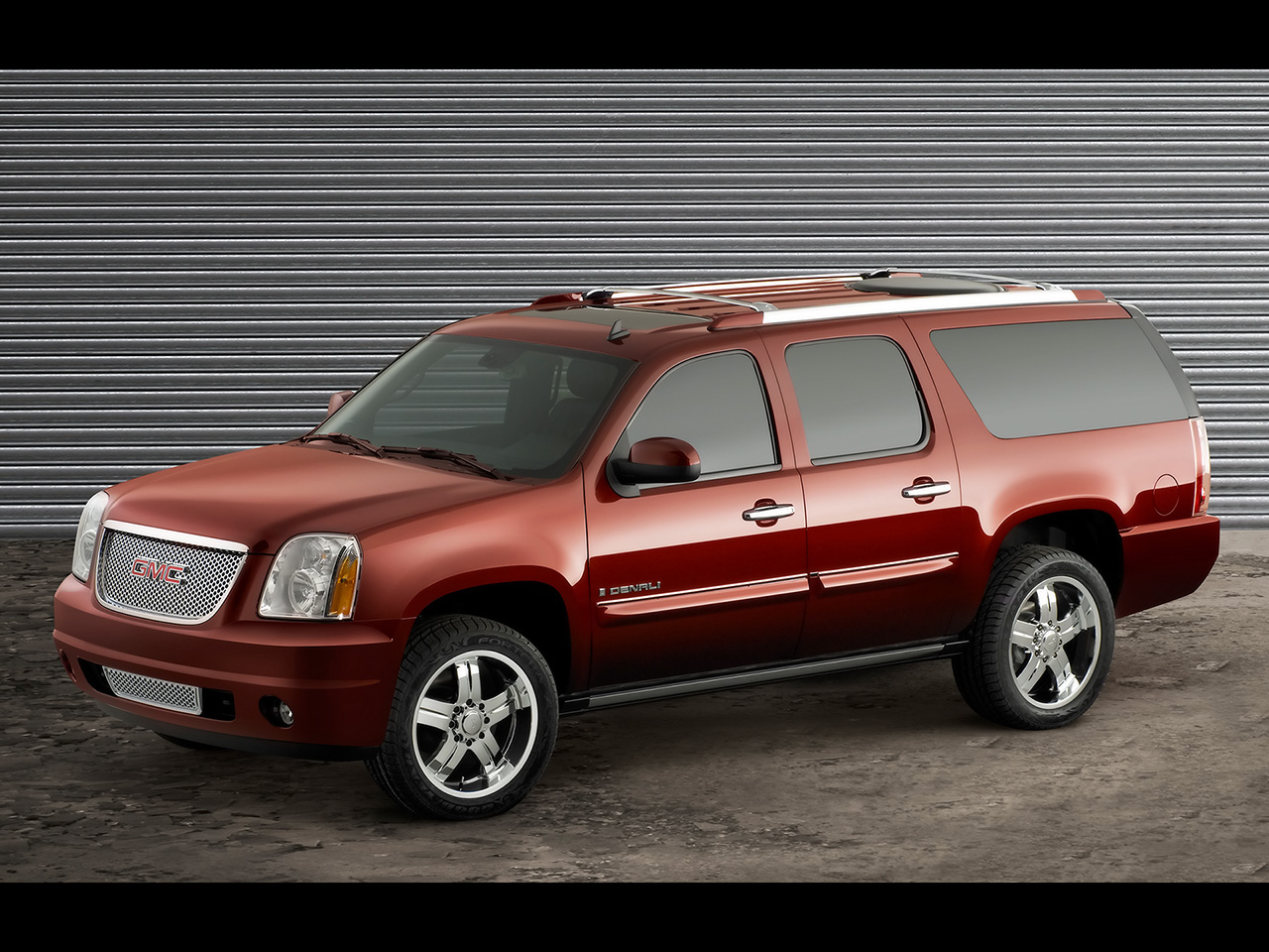 GMC Yukon XL red #4