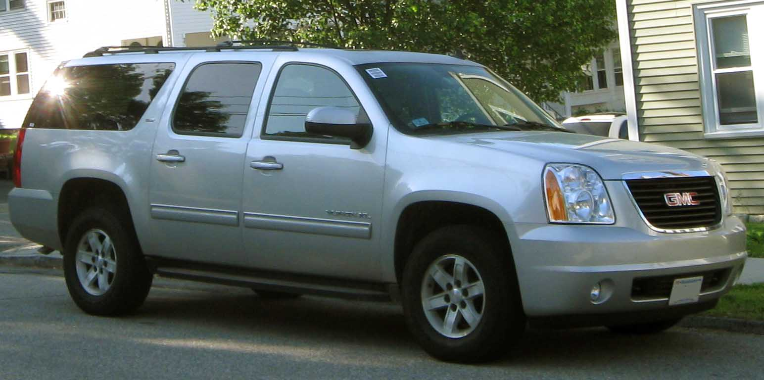 GMC Yukon XL white #3
