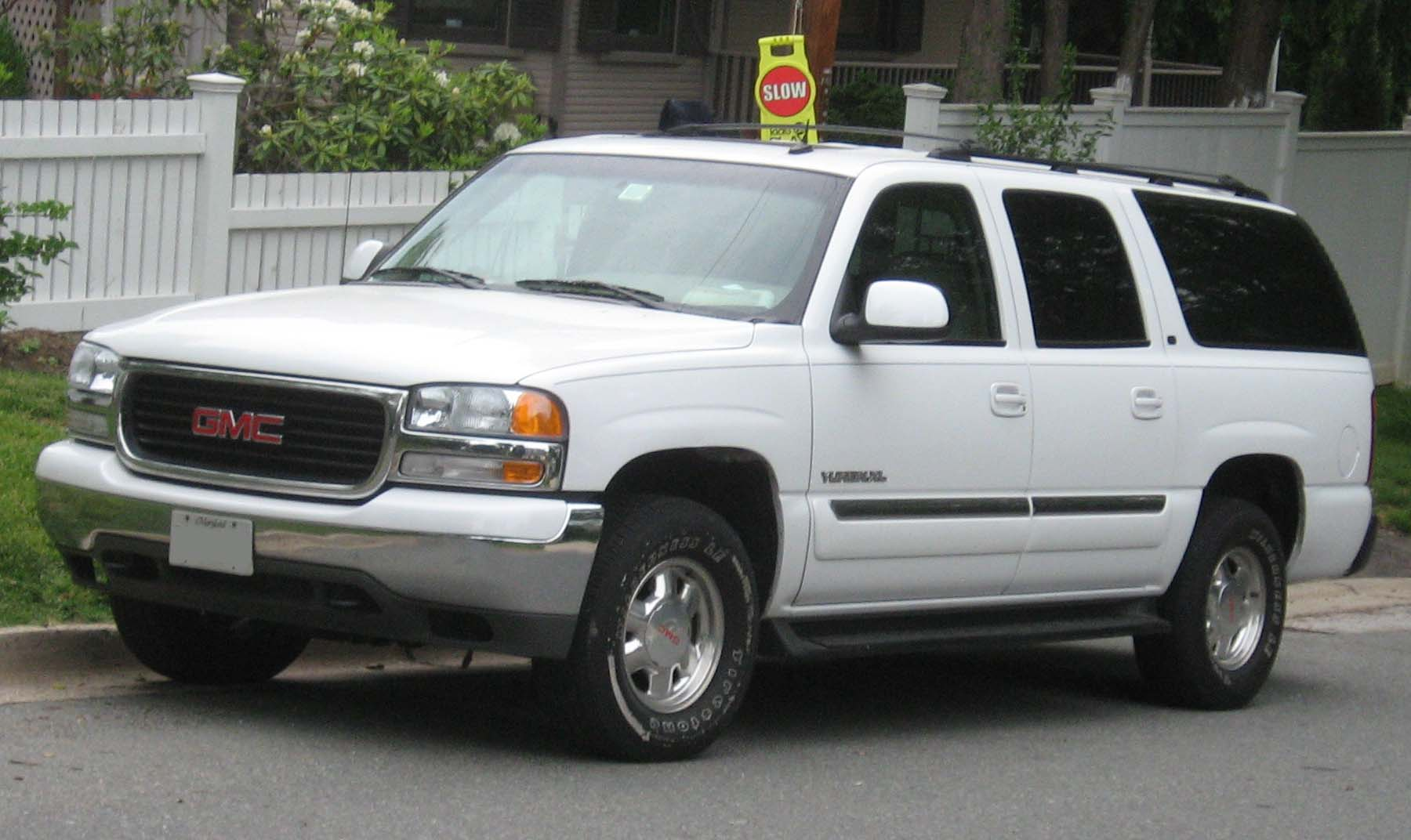 GMC Yukon XL white #4