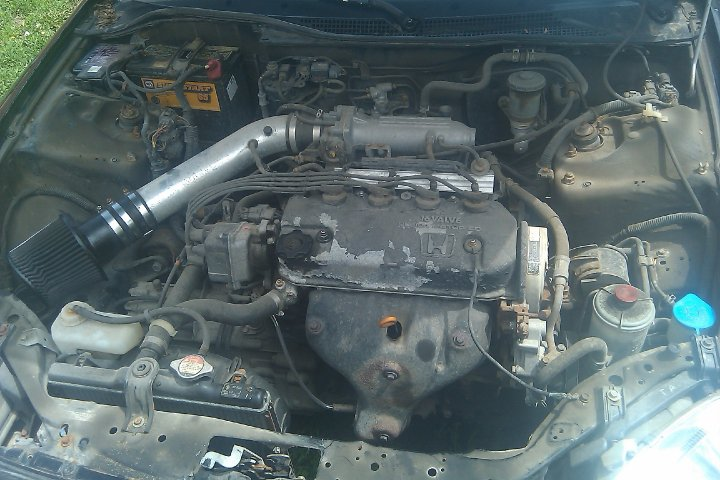 Honda Civic del Sol engine #1