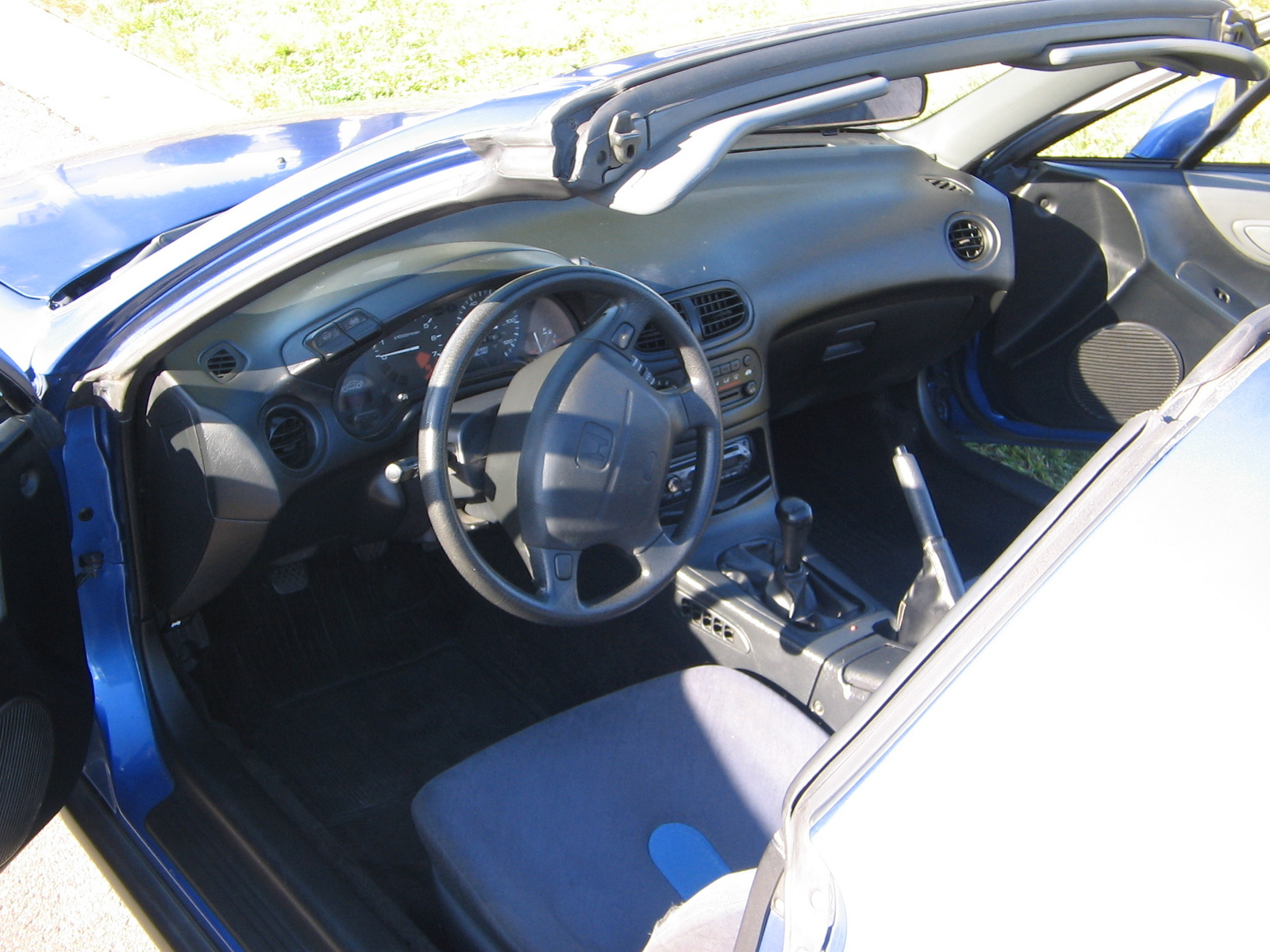 Honda Civic del Sol interior #2