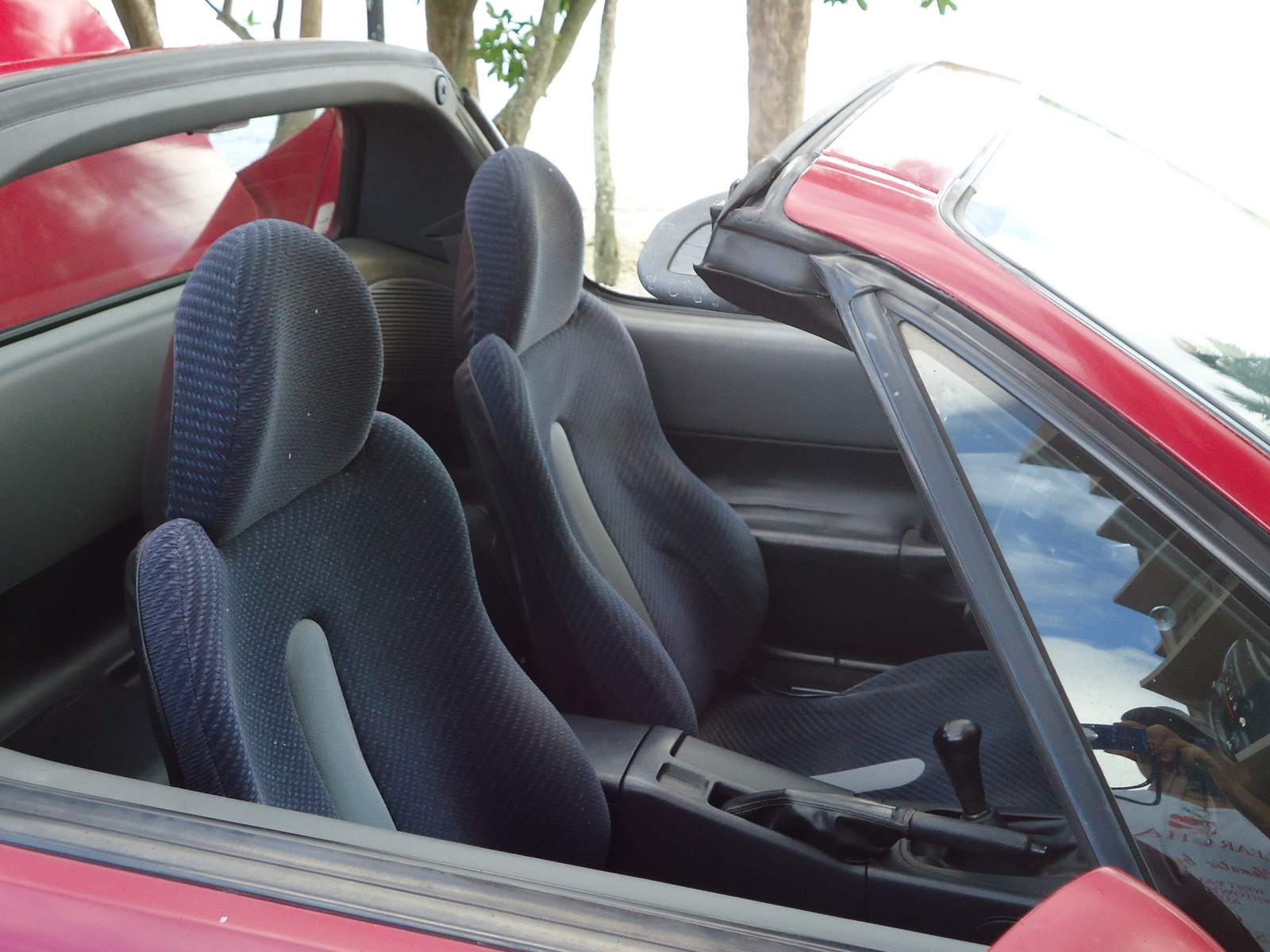Honda Civic del Sol interior #3
