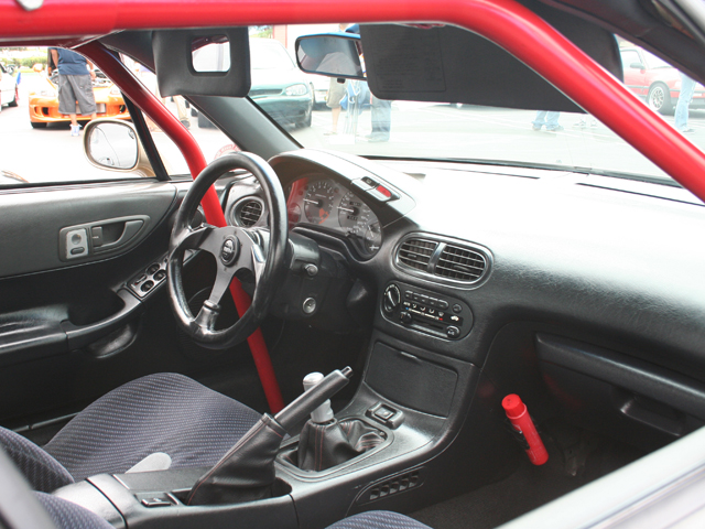 Honda Civic del Sol interior #4