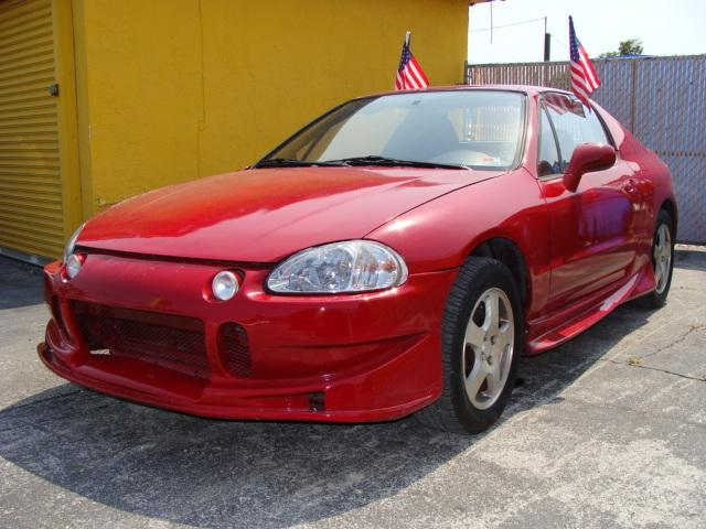 Honda Civic del Sol red #2