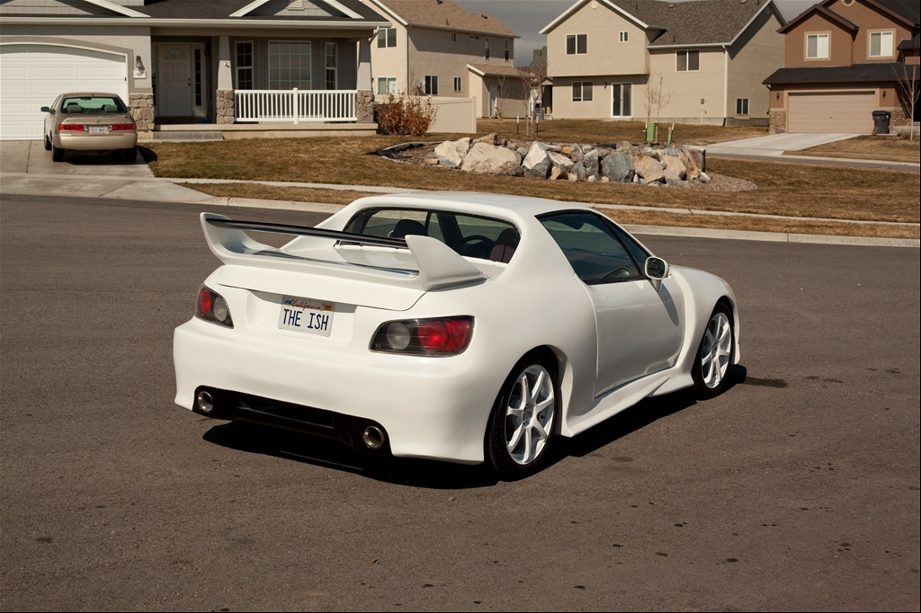 Honda Civic del Sol white #3