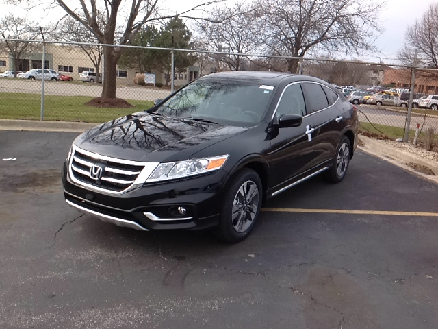 Honda Crosstour black #3