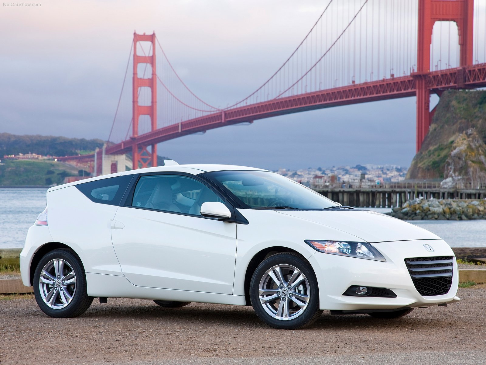 Honda CR-Z white #2