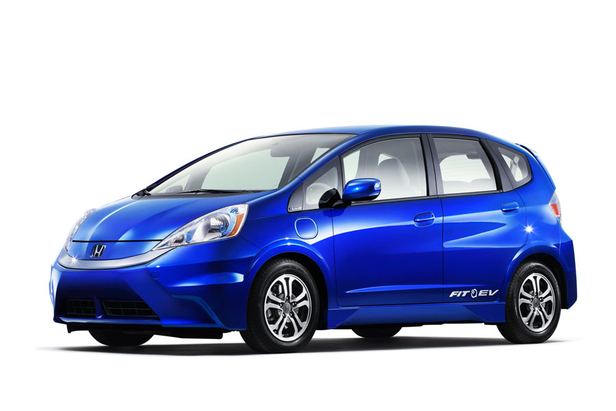 Honda Fit EV black #2