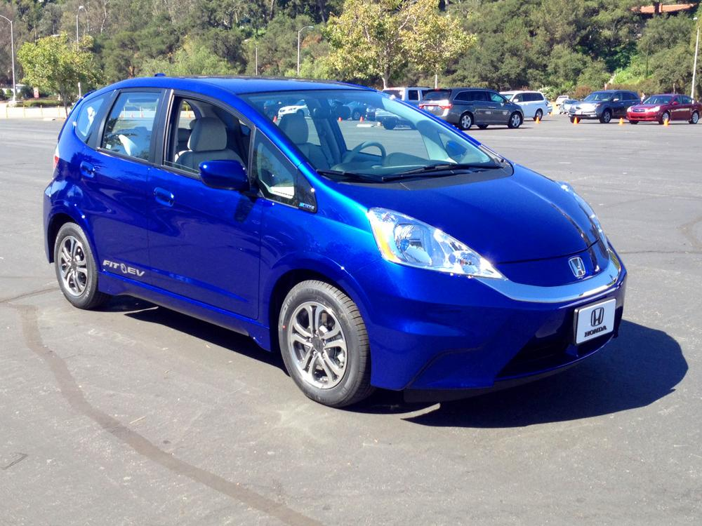 Honda Fit EV black #4