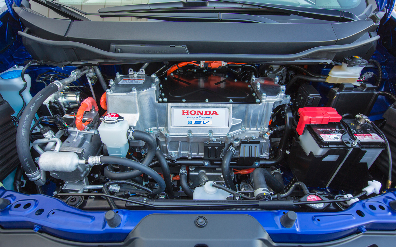 Honda Fit EV engine #1