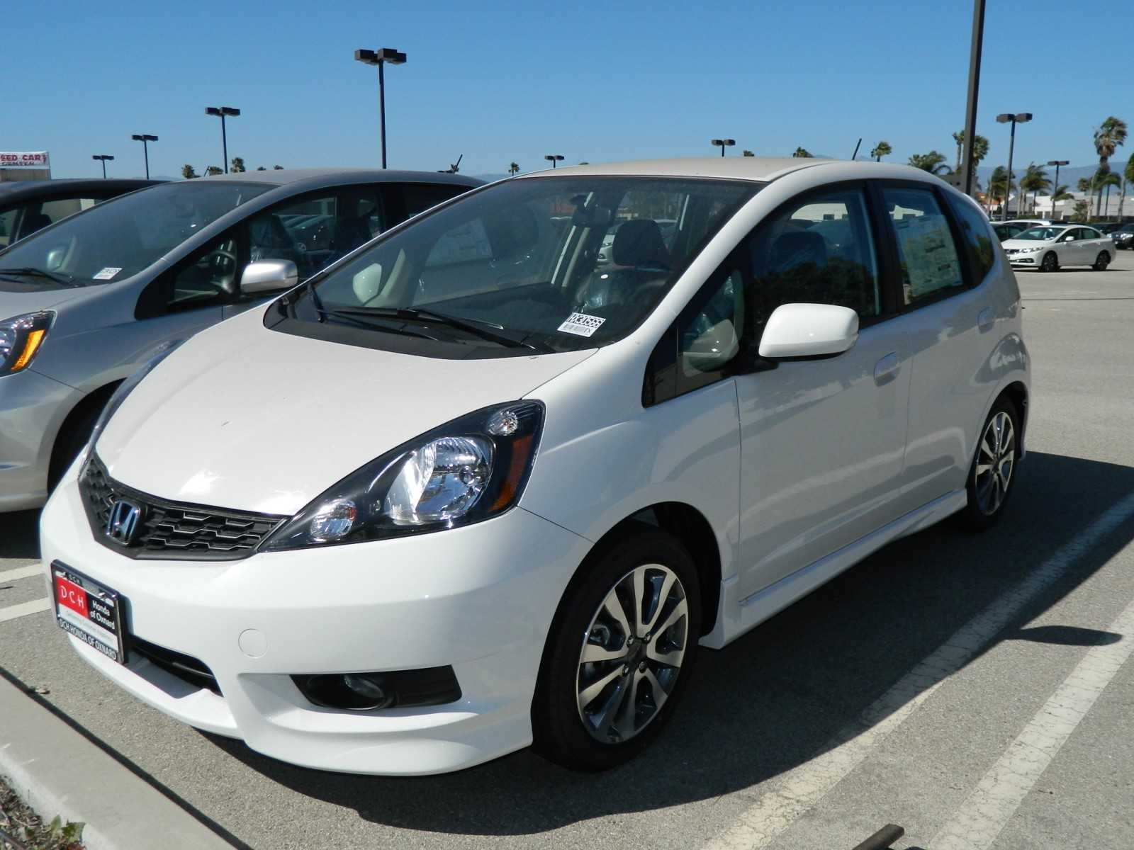 Honda Fit EV white #3