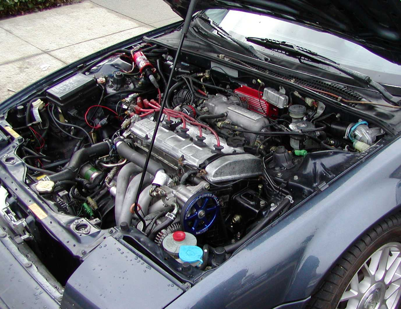 Honda Prelude engine #2