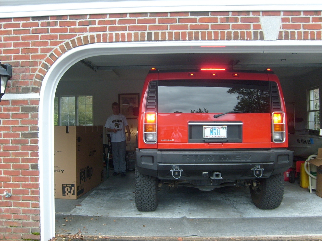 HUMMER H2 red #3